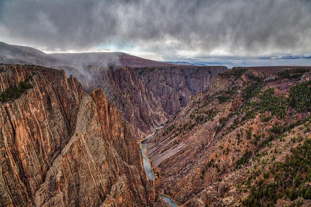 black canyon of the gunnison photo
