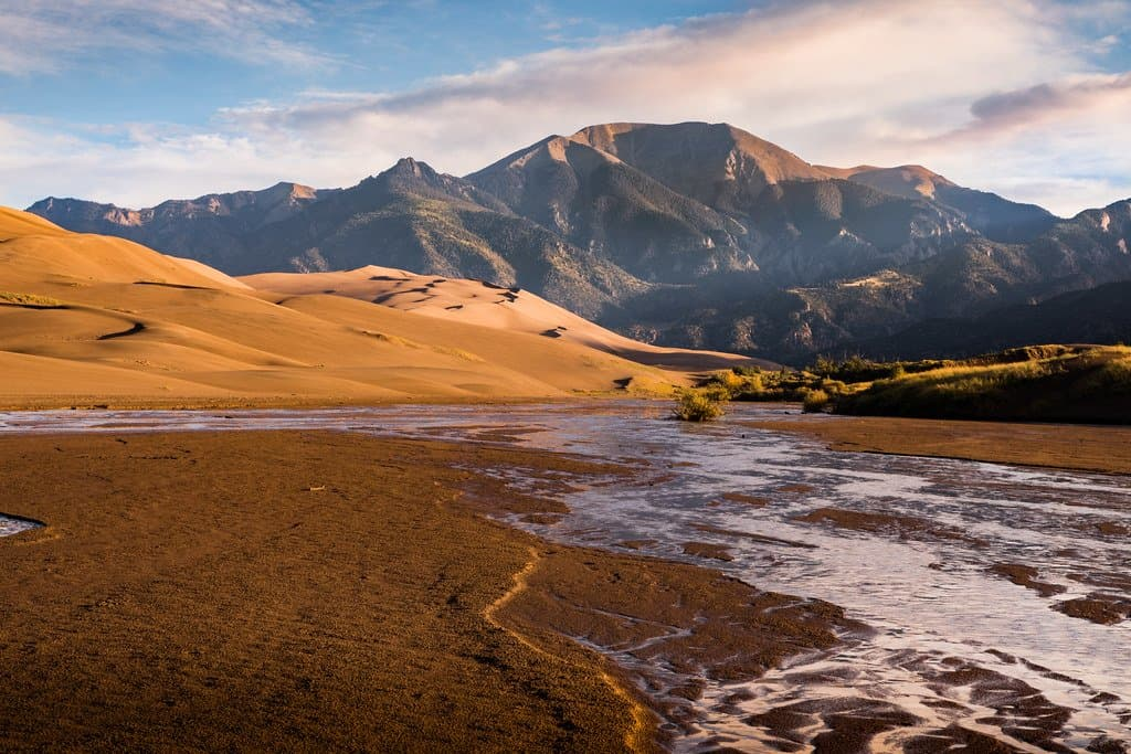 great sand dunes national park is one of the Colorado National parks
