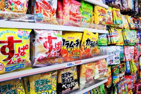 unusual snacks
