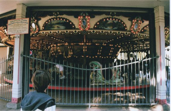 The Griffith Park Merry-Go-Round is one of the park's most kid-friendly draws