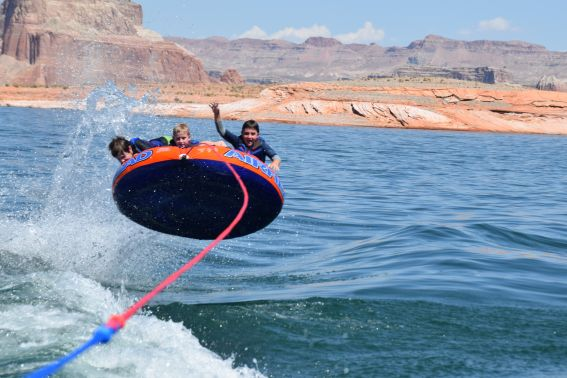 Lake Powell tubing