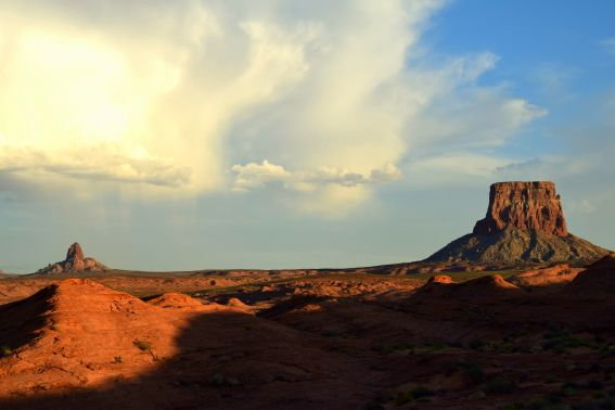 Tower butte Lake Powell