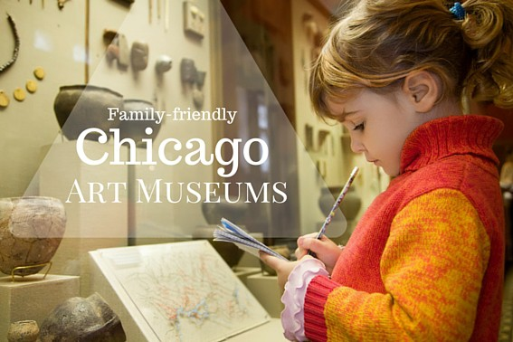 Family-friendly Chicago Art Museums- Exploring the best family-friendly art museums in Chicago with kids. #Chicago #art #museums #familytravel