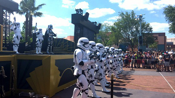 First Order March hits Disney Hollywood Studios for Star Wars fans