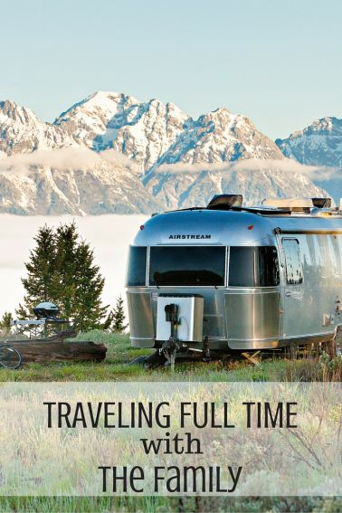 Skip the 9-5 daily grind and learn how to travel full time as a family. Get inspired as you see how one family did just that. #trekaroo #currentlywander #roadschool #homeschooling