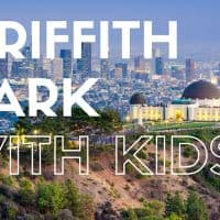 Griffith Park with Kids- Exploring this California wilderness and museum hub in Los Angeles with your family #trekarooing