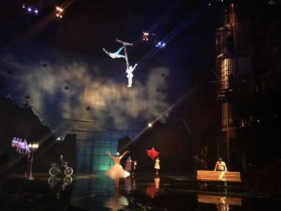 Cirque du Soleil La Nouba Walt Disney World Orlando Summer at Walt Disney World
