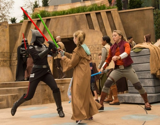 Jedi Training- Trials of the Temple gets kids into the Star Wars actions this summer at Walt Disney World