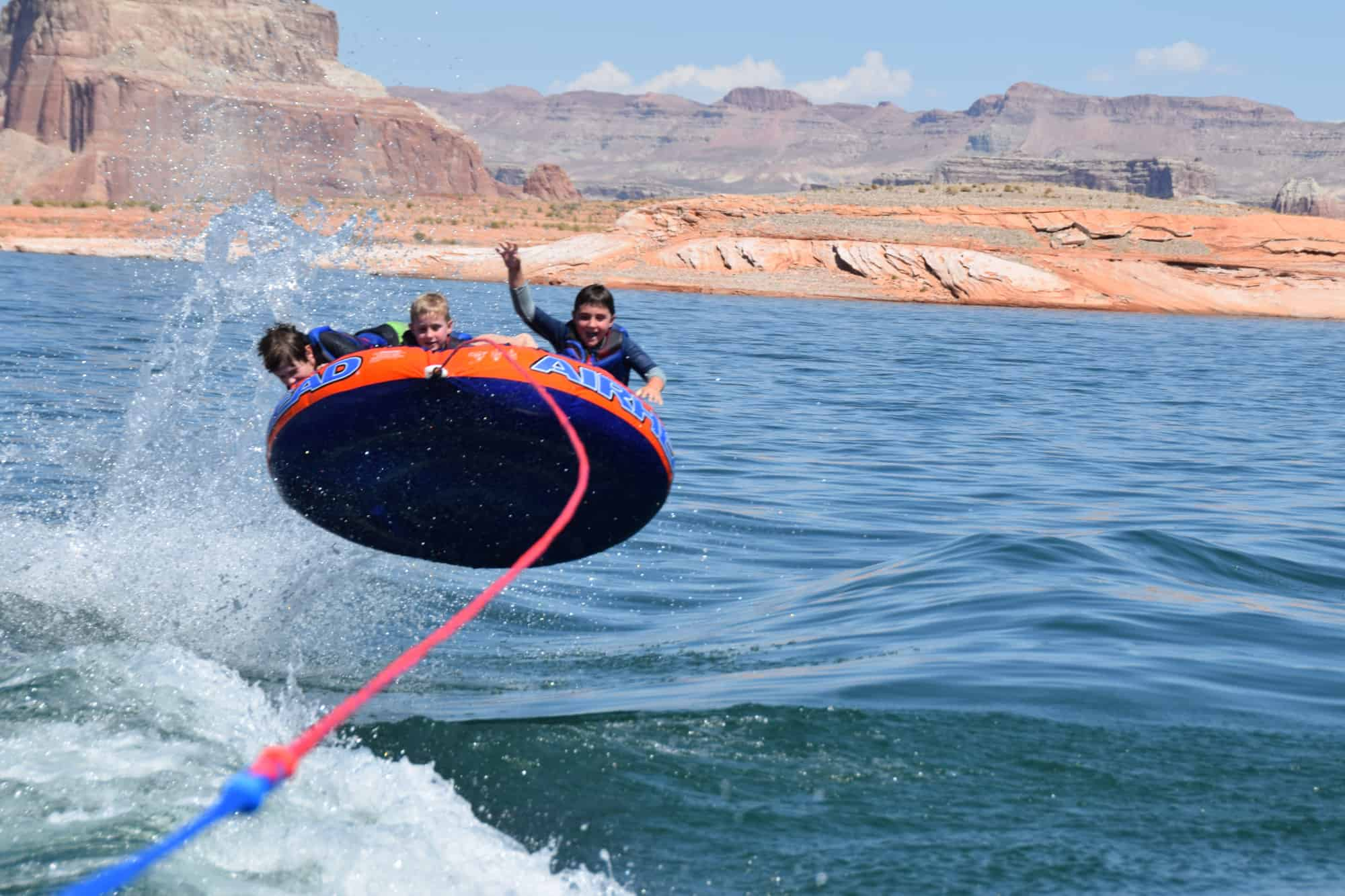 Houseboating On Lake Powell Multigenerational Outdoor Getaway