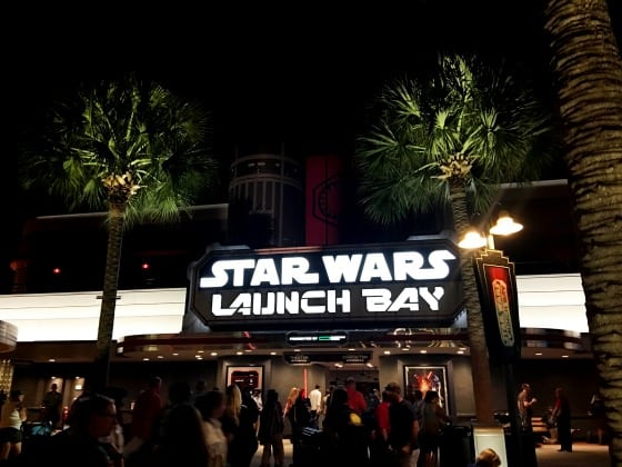 Summer at Walt Disney World is fun with Star Wars Launch Bay Disney World Orlando