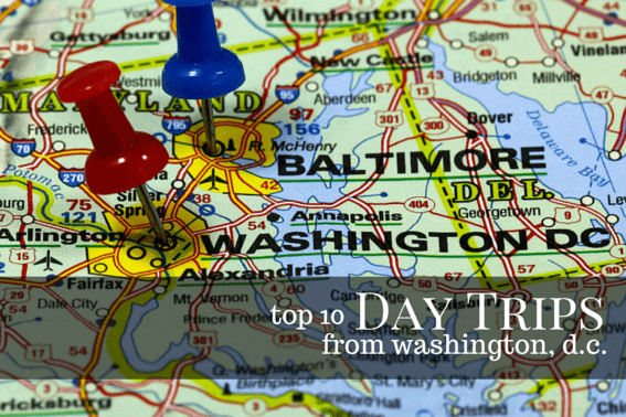 TOP 10 Day Trips from Washington DC #DC #Daytrips