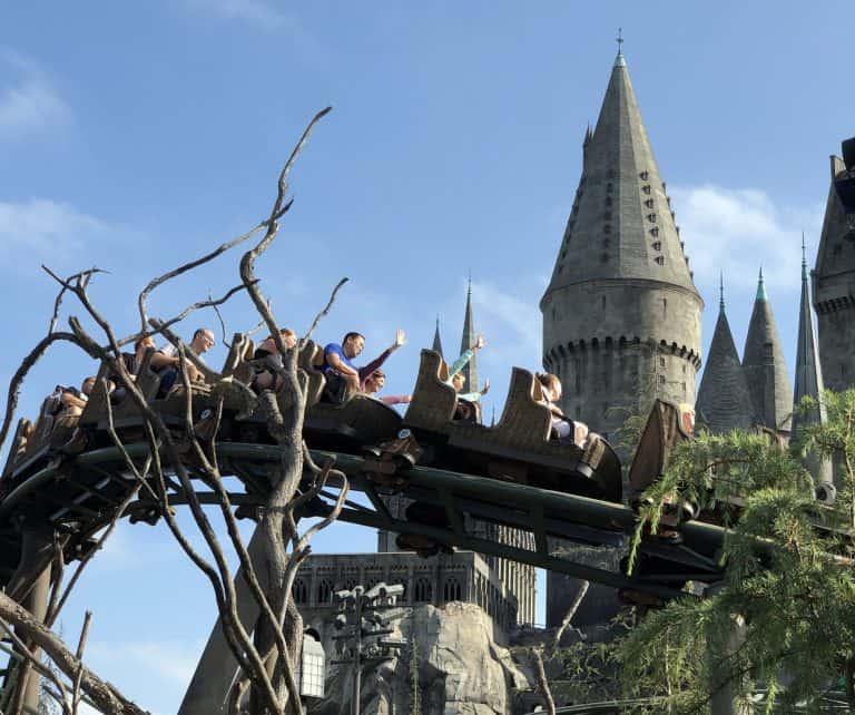 Wizarding World of Harry Potter Universal Studios inHollywood Hippogriff