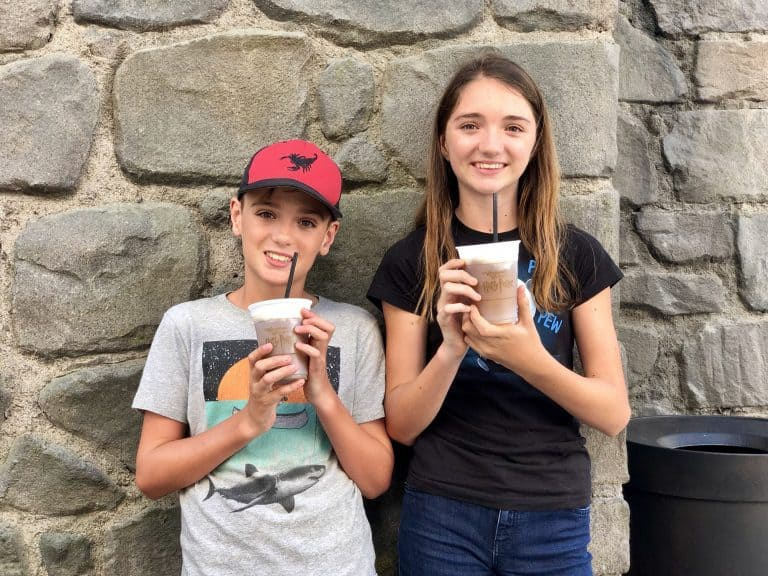 Wizarding World of Harry Potter in Hollywood Butterbeer