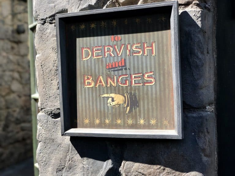 Wizarding World of Harry Potter in Holywood Dervish and Banges