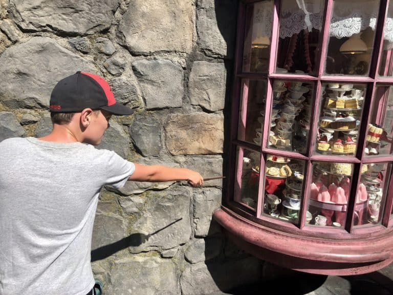 Wizarding World of Harry Potter in Hollywood wands