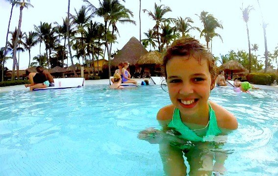 The ocean isn't the only great water in the DOMINICAN REPUBLIC. The pools at the GRAND PALLADIUM resort offer kid-friendly perks and fun for families of all ages.