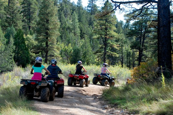 ATV Riding Zion Ponderosa Ranch Resort Women's Getaway Retreat