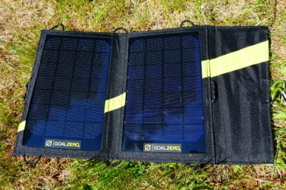 Big Agnes Goal Zero solar panels