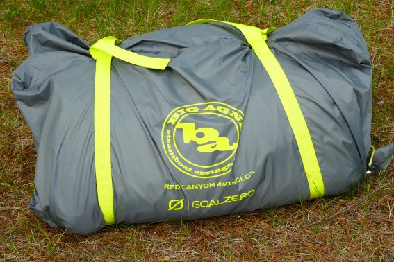 Big Agnes Red Canyon 4 mtnGlo solar
