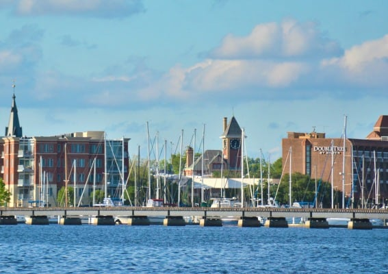 New Bern, North Carolina with kids Waterfront