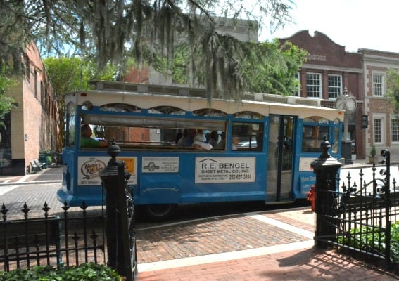 New Bern Trolley Tour New Bern, North Carolina with kids