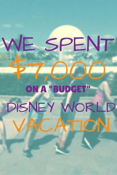 Planning a Disney World Vacation for a family of Five on a budget of $7000 requires planning. One family shares their journey from finding discount airfare, choosing value lodging, picking meal plans, and more for a family of five.