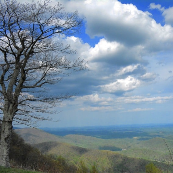 Rocky Knob Blue Ridge Parkway Virginia