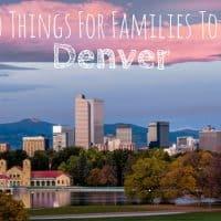 Denver with kids