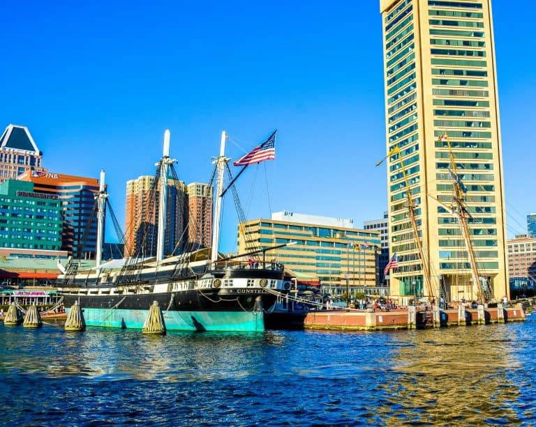 Inner Harbor Historic Ships