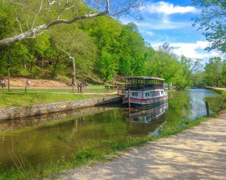 Places to Visit in Maryland C and O Canal Great Falls