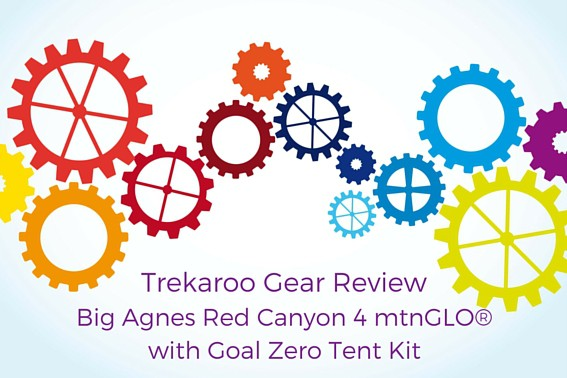 Trekaroo Gear Review- Big Agnes Red Canyon Tent Kit