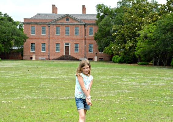Tryon Palace and Gardens New Bern, North Carolina with kids