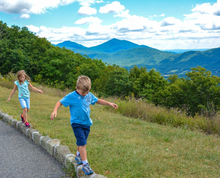 Blue Ridge Parkway Road Trip with Kids