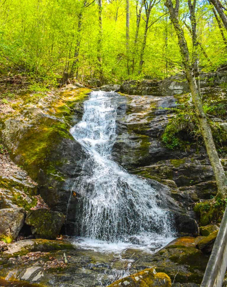 See Crabtree Falls on The Blue Ridge Parkway