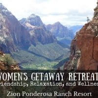 Zion Ponderosa Ranch Resort Women's Getaway Retreat