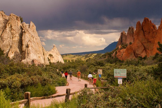 garden of the gods colorado Denver
