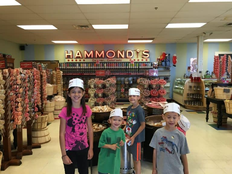 hammond candy denver with kids