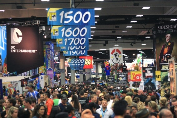 Navigating the Exhibition Hall at Comic-Con International can be a daunting task for families. Read up on our tips to make your visit a success