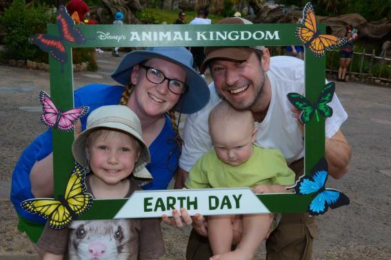 Animal Kingdom Earth Day Kids