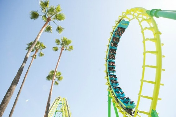 Boomerang at Knott's Berry Farm, just one of the thrilling rides your family will loop for!