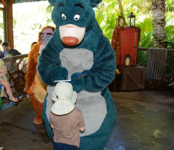 Character Visit Animal Kingdom