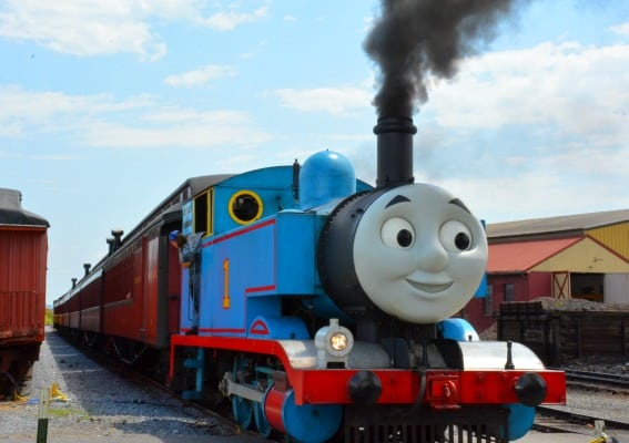 Day out with Thomas Engine