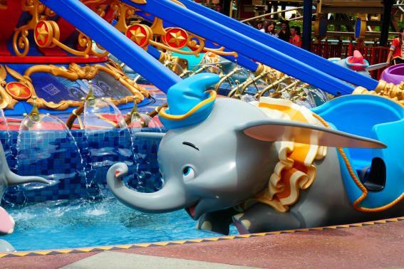 Dumbo Magic Kingdom