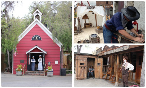 Ghost Town is alive and hopping at Knott's Berry Farm- families can interact with characters from an age gone by