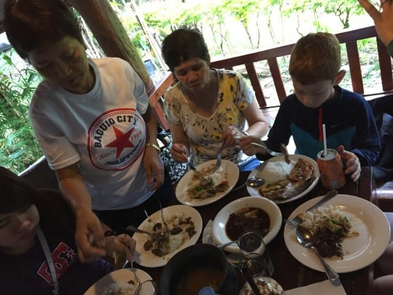 food of the Philippines with kids