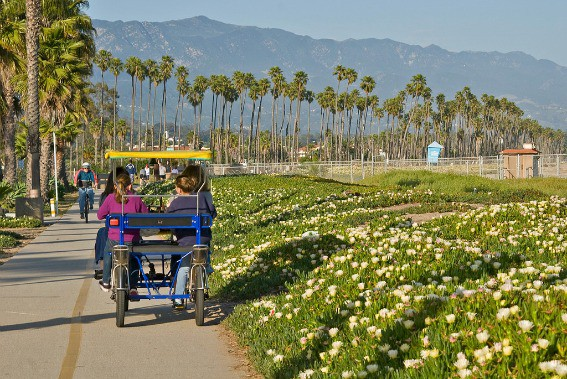 Santa-Barbara-Bike-Path-Surrey-Flickr-Damian-Gadal