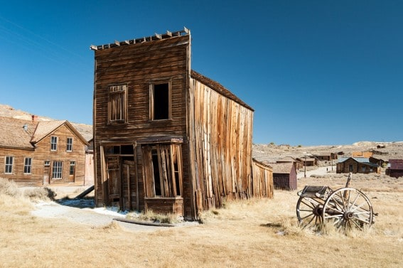 Bodie State Historic Park in Mono County offers hands-on history for kids