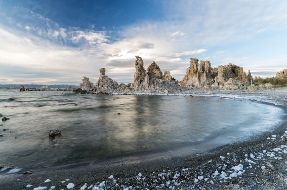 The surreal landscape at Mono Lake will intrigue visitors of all ages