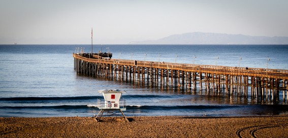 Ventura is a great family-friendly beach in Southern California, just perfect for families