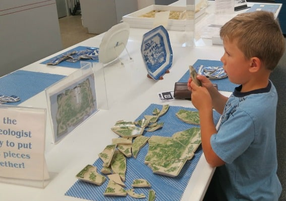 field trip tips to Northern Virginia Alexandria Archeology Museum